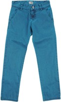 9.2 By Carlo Chionna Denim pants - Item 42630945