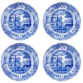 Spode Blue Italian Salad Plates (Set of 4)