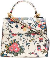 Tory Burch floral print cross-body bag - women - Polyurethane - One Size