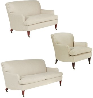 OKA Coleridge Sofa Set - Natural