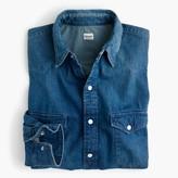 J.Crew Chimala® western denim shirt