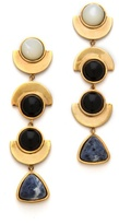 Lizzie Fortunato The Elegant Ordinary Column Earrings