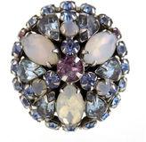 One Kings Lane Vintage Austrian Saphiret Large Domed Ring