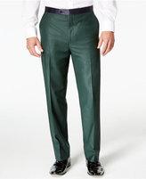 Sean John Men's Green Classic-Fit Tuxedo Pants
