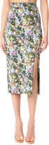 Cushnie et Ochs Floral Pencil Skirt