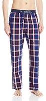 Diesel Men's Markdock Plaid Lounge Pants