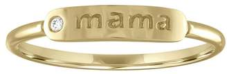 story. My Mama Ring - Yellow Gold