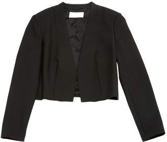 HUGO BOSS Black Wool Jackets