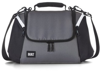 Built NY All Day Lunch Bag Black and Grey