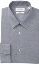 Calvin Klein Printed Slim Fit Stretch Dress Shirt