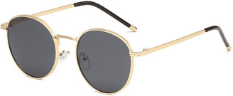 Don't Be Shady Annalise Circle Sunglasses
