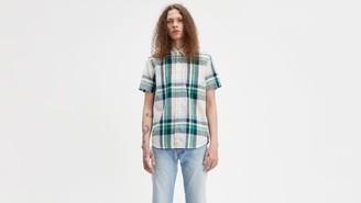 Levi's Plaid Short Sleeve Classic One Pocket Shirt