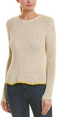 James Perse Linen-Blend Crew Sweater