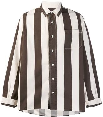 Visvim striped casual shirt