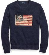 Ralph Lauren Flag-patch Cotton Sweater
