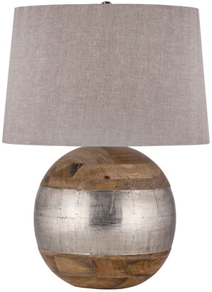 Artistic Home & Lighting 27In German Silver Table Lamp