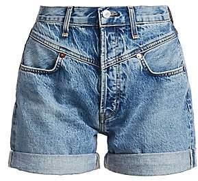 RE/DONE Women's The 90s Double Yoke Jean Shorts