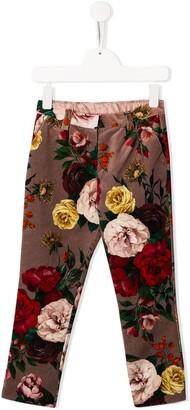 Dolce & Gabbana Floral print trousers