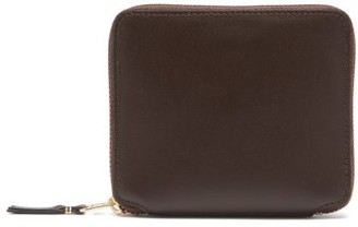Comme des Garcons Zip-around Leather Wallet - Brown