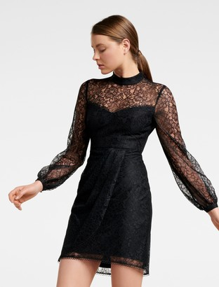 Ever New Axel Mini Lace Dress