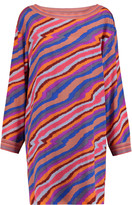 Missoni Printed silk-blend mini dress