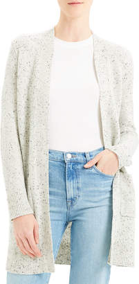 Theory Open-Front Belted Cardigan
