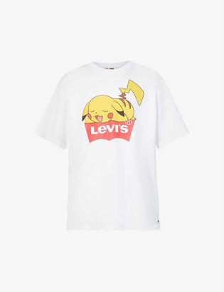 Levi's Levis x Pokemon Pikachu-print unisex cotton-jersey T-shirt