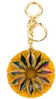 Burberry flower keyring