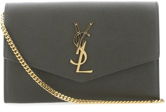 Saint Laurent Uptown Chain Clutch Bag