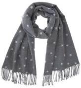 Mint Velvet Granite Star Blanket Scarf