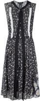 Marc Jacobs daisy print voile dress - women - Cotton - 6