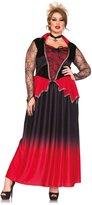 Leg Avenue Women's Plus-Size 2 Piece Just Bitten Beauty Vampire Costume