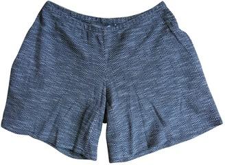 Margaux Lonnberg \N Grey Wool Shorts