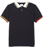 This is Not a Polo Shirt Raw Seam Cotton Polo Shirt