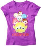 """Disney Girls' """"Tsum Tsum"""" Graphic Tee"""