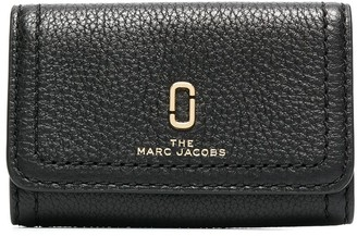 Marc Jacobs Leather Logo Key Holder