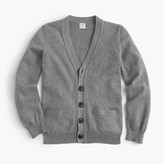 J.Crew Boys' cotton-cashmere cardigan sweater