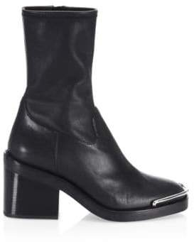 Alexander Wang Hailey Leather Booties