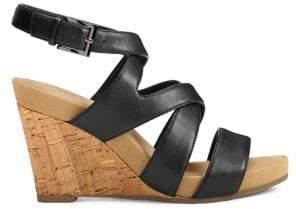Aerosoles Silverplush Wedge Sandals