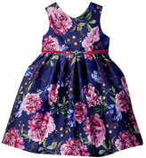 Pippa & Julie Floral Jeweled Poppies Dress (Toddler & Little Girls)