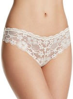 Honeydew Camellia Lace Thong #97270