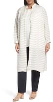 Lafayette 148 New York Plus Size Women's Auden Stripe Tunic