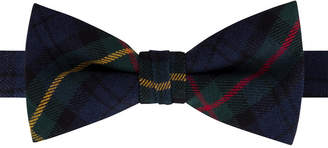 Tommy Hilfiger Big Boys Pre-Tied Tartan Bow Tie