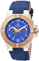 Burgmeister Women's BM220-933 Analog Display Quartz Blue Watch