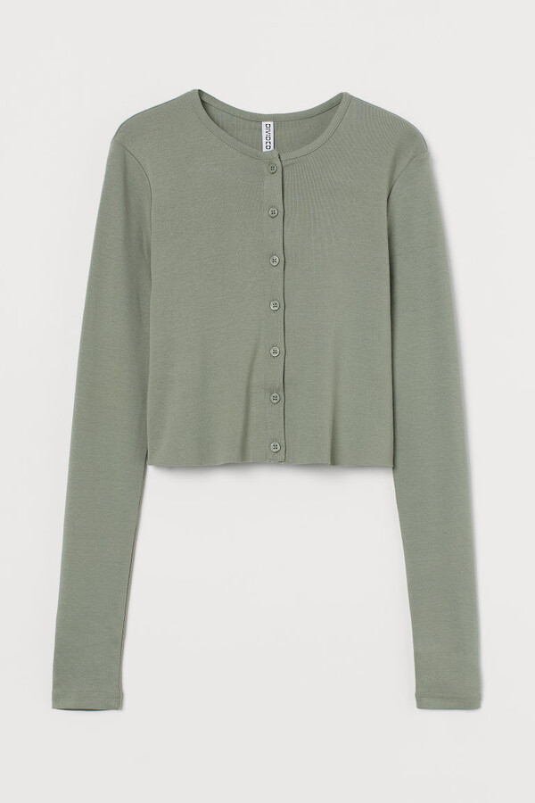 Thumbnail for your product : H&M Button-front cardigan