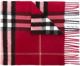 Burberry checked scarf - women - Cashmere - One Size
