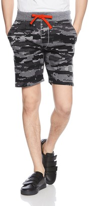 Diesel Men's UMLB-PAN Loungewear Shorts Micro Camou