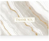 Caspari Marble Thank You Cards, Box of 8