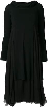 Giorgio Armani Pre-Owned layered dress