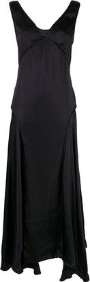 Jil Sander Panelled Long Dress
